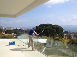 Nettoyage de vitres pour vente appartement